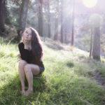Audrey Callahan Forest Photoshoot